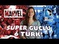 Marvel ve DC Evrenlerinde Süper Güce Sahip 6 Türk!
