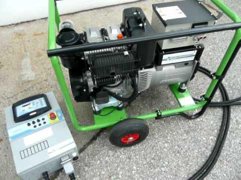 10kVA (8kW) Lombardini SLL3010 | 400V - 50Hz - 3.000U/min