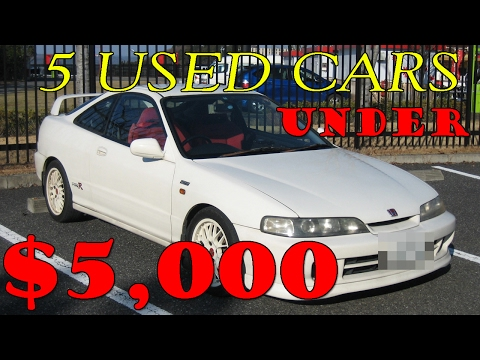 Top 5 Best Cheap Used Cars Under 5000