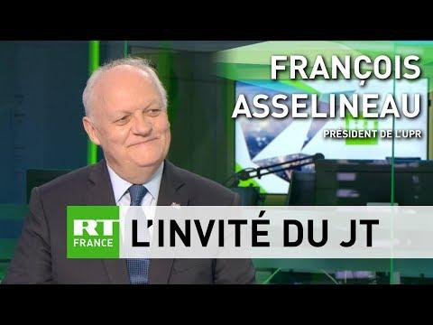 «Macron représente un monde en perdition» : François Asselineau réagit à l'affaire Benalla