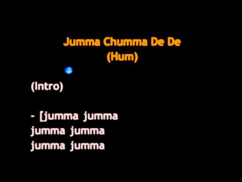 Jumma Chumma De De video