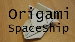 Origami Tutorial - Decorational Spaceship