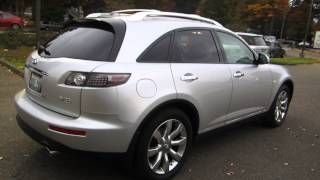 2006 Infiniti FX35, Brilliant Silver - STOCK# 14093A - Walk around