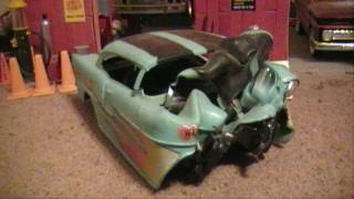 WRECKED MODEL CARS (~_^)