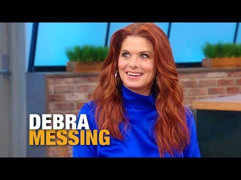 Watch How Quickly Debra Messing Responds When Rach Asks If Her 13-Year-Old Son Is Dating Yet