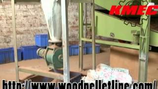 Leaf Pellet Mill, Wood Pellet Line