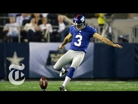 Subscribe on YouTube: http://bit.ly/U8Ys7n The New York Giants' kicker, holder and snapper share the details of how a field goal is executed. NYT on Google P...