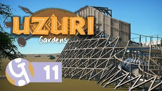 🌴 GCI Wooden Coaster ft. Silvarret | Uzuri Gardens | Let's Play Planet Coaster Ep. 11
