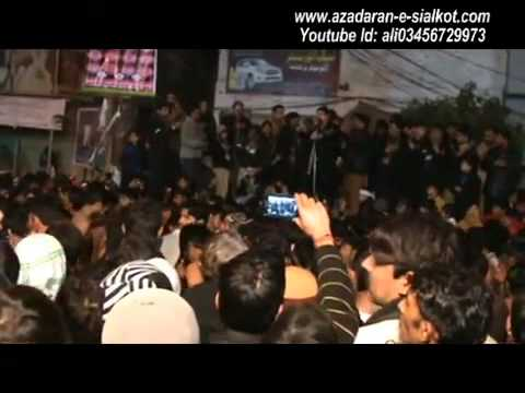 FARHAN ALI WARIS Live Azadari At Sialkot 15 Safar 2012 Part-1/2
