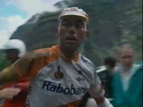Johan Bruyneel Crashing and falling off a mountain