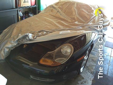 Porsche Boxster Car Cover