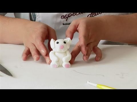 How To Create A Fondant Bunny