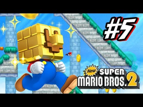 New Super Mario Bros 2 3DS - Part 5 World 5