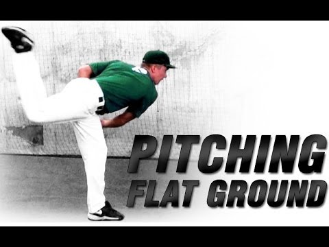 Ground Pitch Baseball Baseball Flat Ground Mechanics