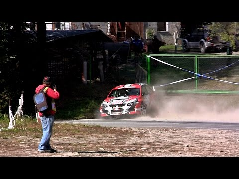 Rally Vsetín 2016 CRASH & ACTION [HD]