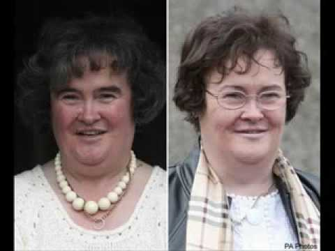 susan boyle before and after Music Videos