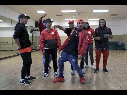 Kida The Great, Jujubeatz, Gavin, Shaheem, Konkrete, Jabari, & Kendrick - Dance Freestyle Session