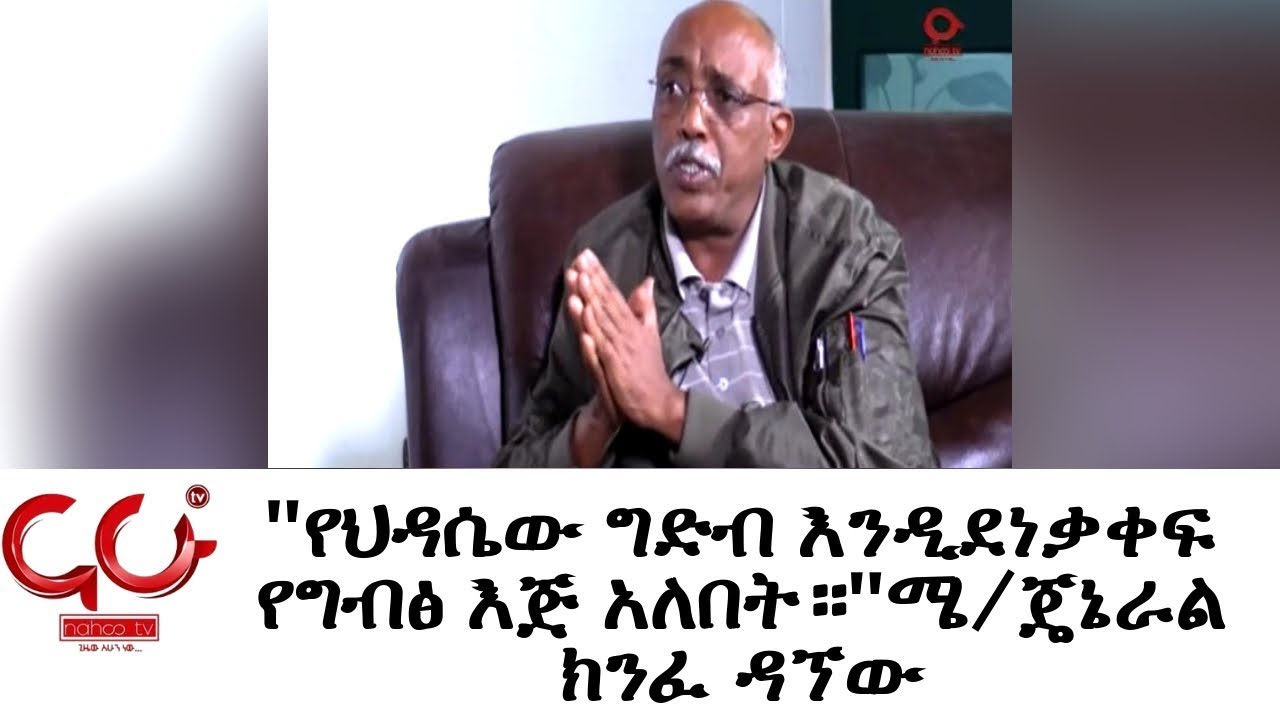 Interview with Former CEO Of METEC Gen . Kinfe Dagnew