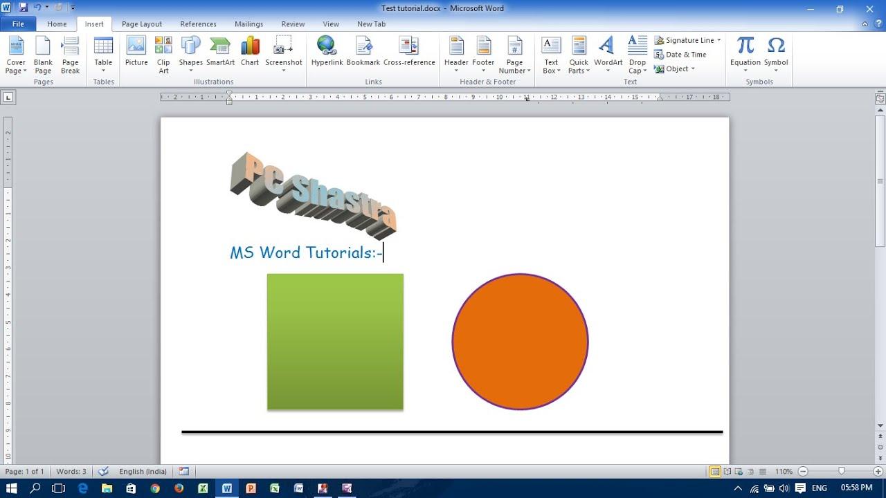 Как сделать иллюстрацию в word