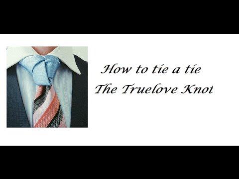 Art of Subtlety - Truelove Necktie Knot - How to tie a tie