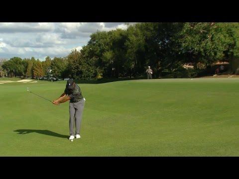 Tiger Woods bogeys No. 13 at Hero World Challenge