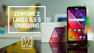 Asus ZenFone 2 Laser 5.5 S Unboxing and Hands-On