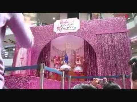 Barbie A Fashion Fairytale Cast Barbie amp cast catwalk Barbie