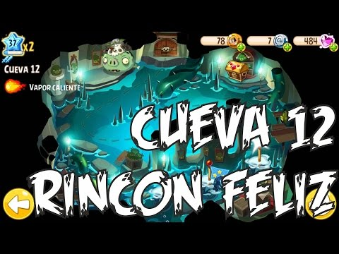Cueva 12 Angry Birds Epic Rincon Feliz-10 BOSS JEFE -- Chronicles Cave 12 Happy Spot level-10