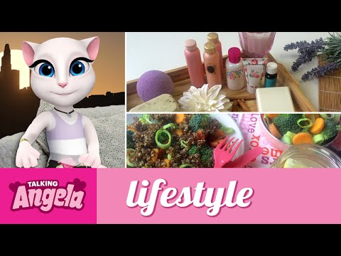 Talking Angela - My Evening Routine