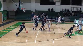 JV. Boys MillBrook Vs  Cardinal Gibbons