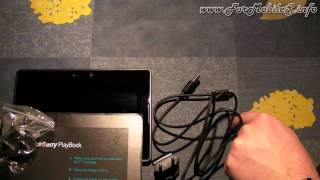 BlackBerry PlayBook 16 GB - Unboxing