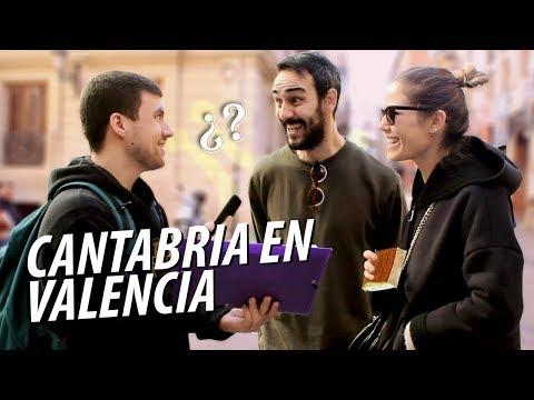 ¿Cuánto saben de CANTABRIA en VALENCIA? | Entrevistas callejeras