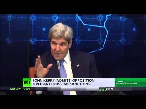 John Kerry voices concerns Washington might lose EU support for anti-Russia sanctions