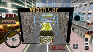 MODERN BUS CAR WASH - AUTO CAR WASH MECHANIC    Android Gameplay Ep: 1    ( BY TECH HUB GAMES)