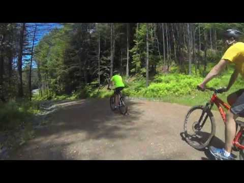 What's it like to bike on Norwich University's Paine Mountain?