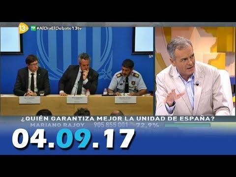 Al Día Debate Político 13tv 04.09.17