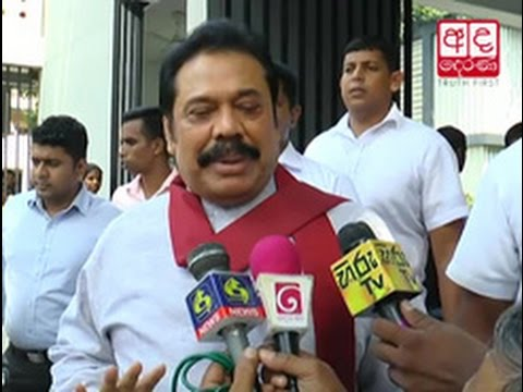 rajapaksa says his g|eng