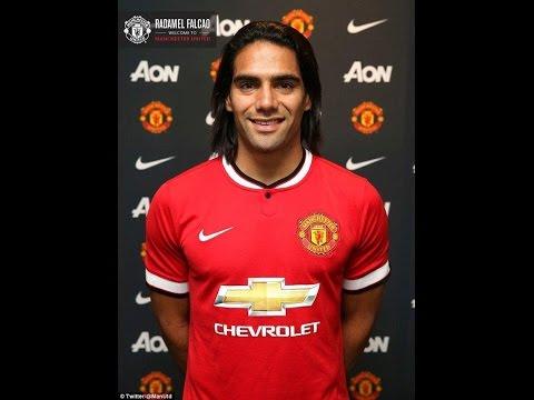 Radamel Falcao First Manchester United Interview