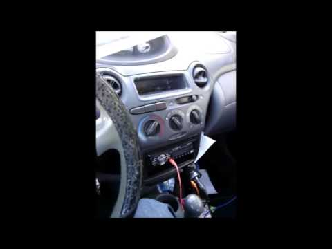 STUCK Heater Control Knob Repair Toyota Echo w/part number