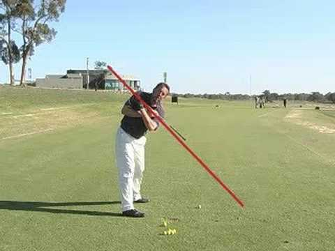 The One Plane Golf Swing. Presented by GolfZone.