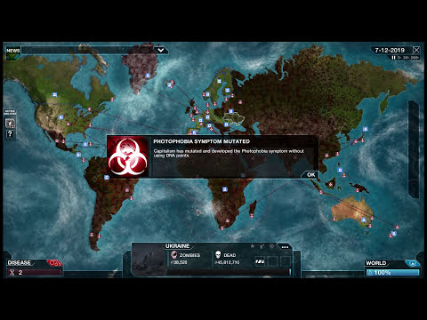 Plague Inc. Evolved - Necroa Virus [Zombies!] Brutal Walkthrough
