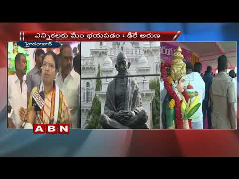 Congress leader DK Aruna Face to Face over Files Petition against TS Assembly dissolution
