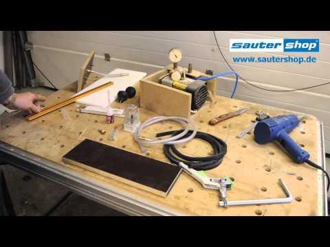 Bauanleitung Vakuum Spanntisch Unter 20 Euro N.Vorbild Festool VAC SYS Selber Machen  DIY #009