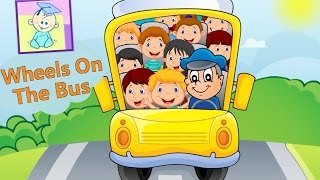 Wheels On The Bus  - New Version | Nursery Rhymes | From Baby Teacher