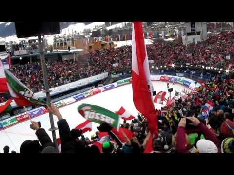 Marcel Hirscher Schladming WM 2013 Slalom final run