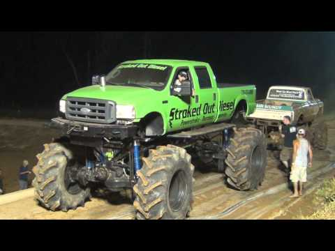 BIG FORD STROKED OUT DIESEL TUG OF WAR!!!