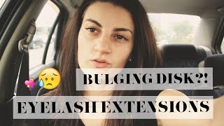 DNM In the Car | Back Problems | New Eyelashes