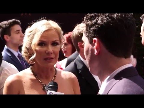 2016 soapcentral.com Daytime Emmys Red Carpet: Brad Bell and Katherine Kelly Lang