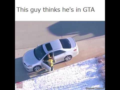 GTA в живую