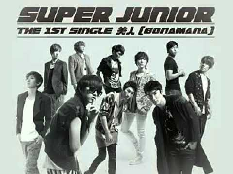 【MP3】SuperJunior   BONAMANA日文版  台首播 320x240